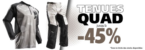 Tenue quad Moose