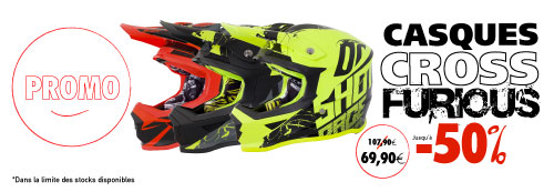casque moto cross shot