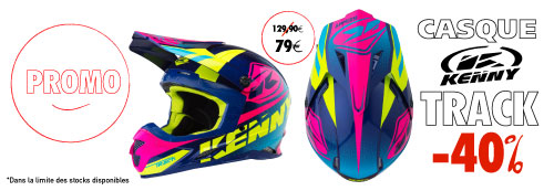 Casque moto cross Kenny Performance