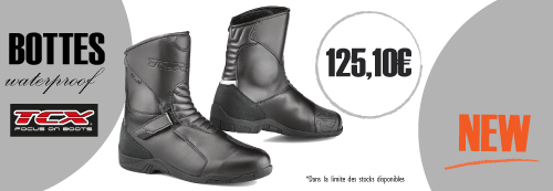 Botte moto TCX imperméable
