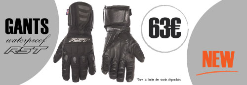 Gants moto RST waterproof
