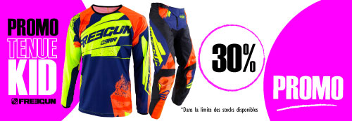 Tenue moto cross enfant freegun