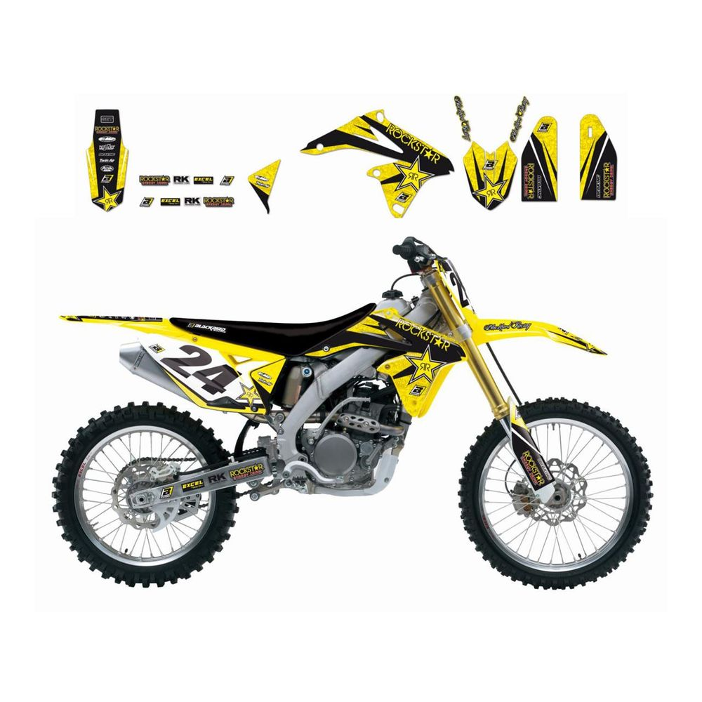 kit d 233 co blackbird rm z250 10 17 rockstar energy blackbird 7805160 tenue motocross 233 quipement