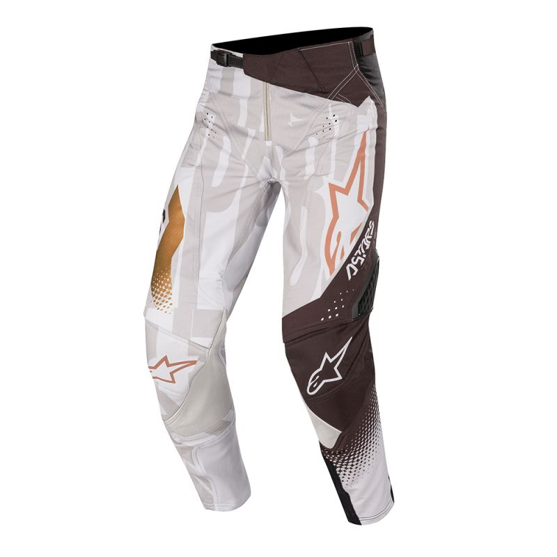Pantalon Off Road Alpinestars Factory Metal Gris Noir Cuivre 2020 Equipement Motocross Alpinestars