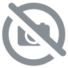 Casque cross HJC i50 Vanish orange bleu 2021